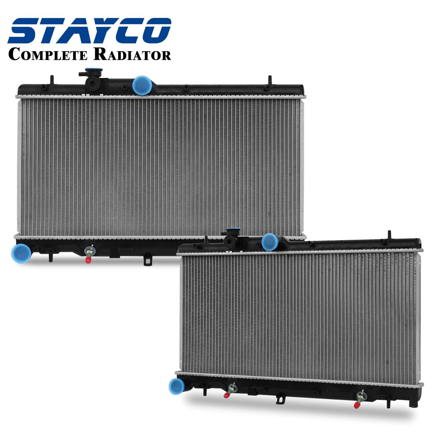 Radiator For 2000 2001 2002 2003 2004 Subaru Legacy Thermostat Outback 2005 2006 Baja 25l H4 Automotive