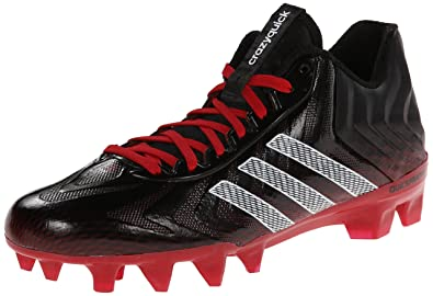 best loved 00a6c 08b78 adidas Performance Mens Crazyquick Football Cleat, BlackWhiteRoyal, 11 M  US