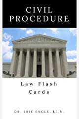 Civil Procedure: Quizmaster Law Flash Cards Kindle Edition