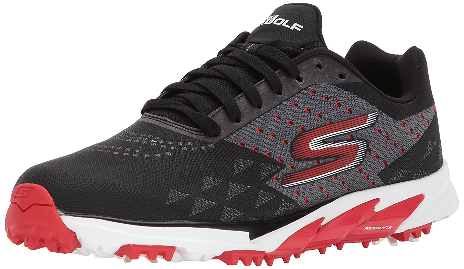 Skechers Men's Go Golf Blade 2 Golf Shoe B06XSCLXP7 12 D(M) US|Black/Red