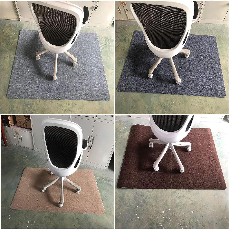 gris fonc/é. GGoty Protection de sol de bureau tapis de chaise pour sol antid/érapant 140 x 90 cm tapis de chaise d/éroul/é tapis antid/érapant pour chaise de bureau