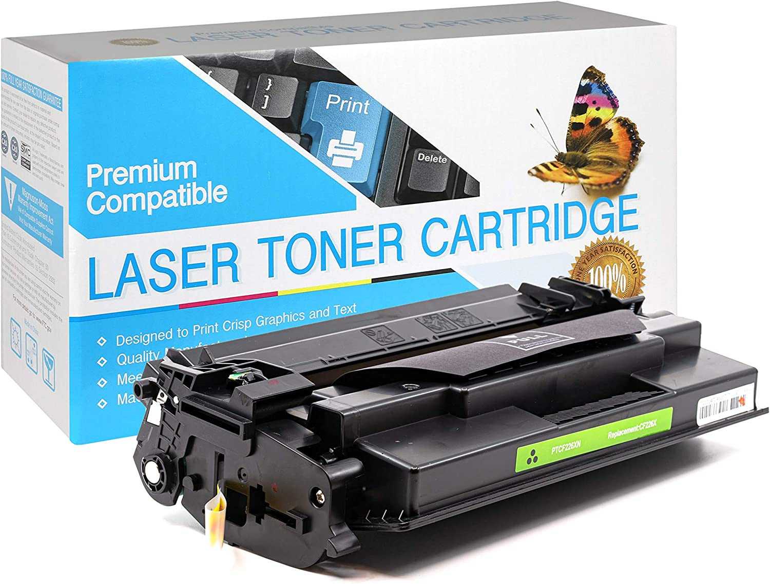 SuppliesOutlet Compatible Toner Cartridge Replacement for HP 26X / CF226X (High Yield Black,1 Pack)