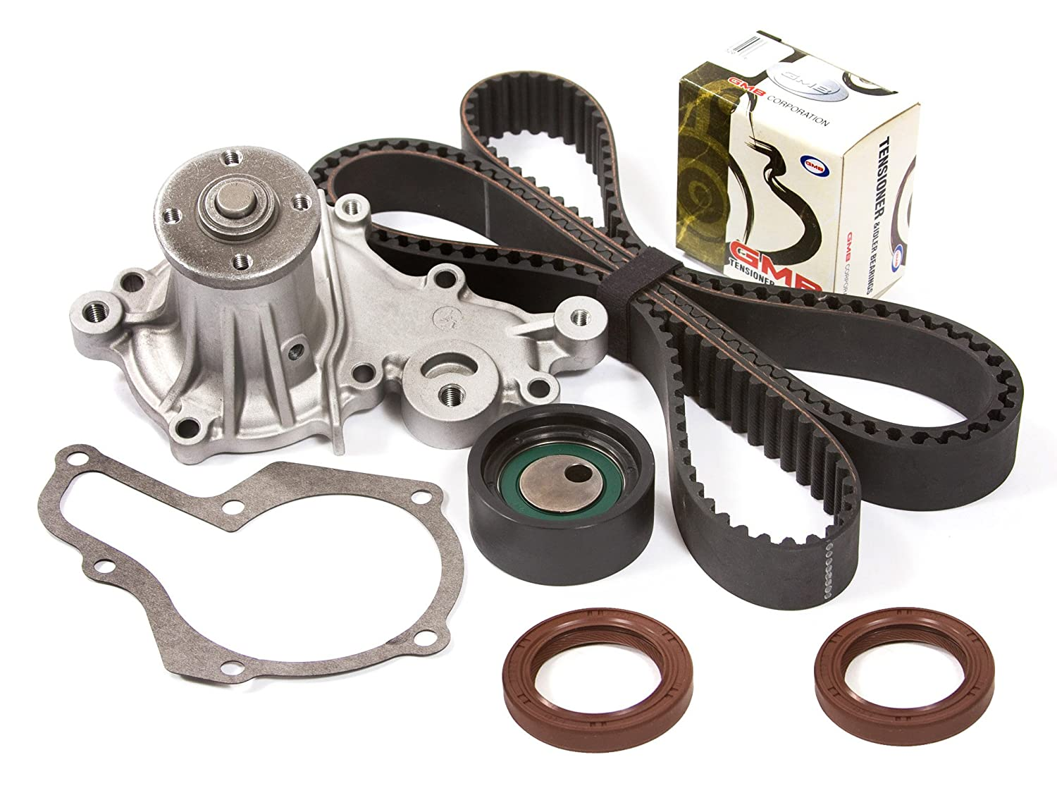 Amazon.com: Evergreen TBK095WPT Suzuki G13A 8-Valves SOHC Timing Belt Kit  w/ Water Pump: Automotive