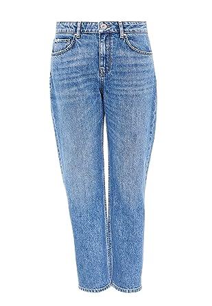 Hallhuber Cropped Candiani Denim Jeans 8, Middle Blue Denim