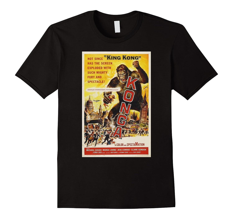 Vintage Sci Fi Horror Movie Poster-TJ