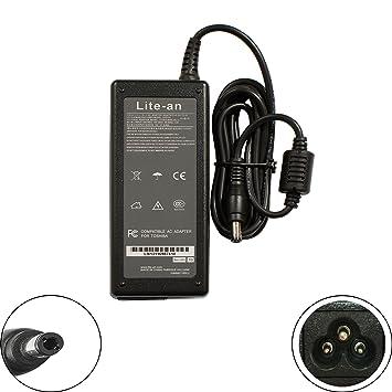 LITE-AN - Cargador para Ordenador portátil Toshiba PA3917U ...