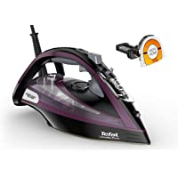 Tefal FV9830 Ultimate Pure Steam Iron, Purple/Black [International version]