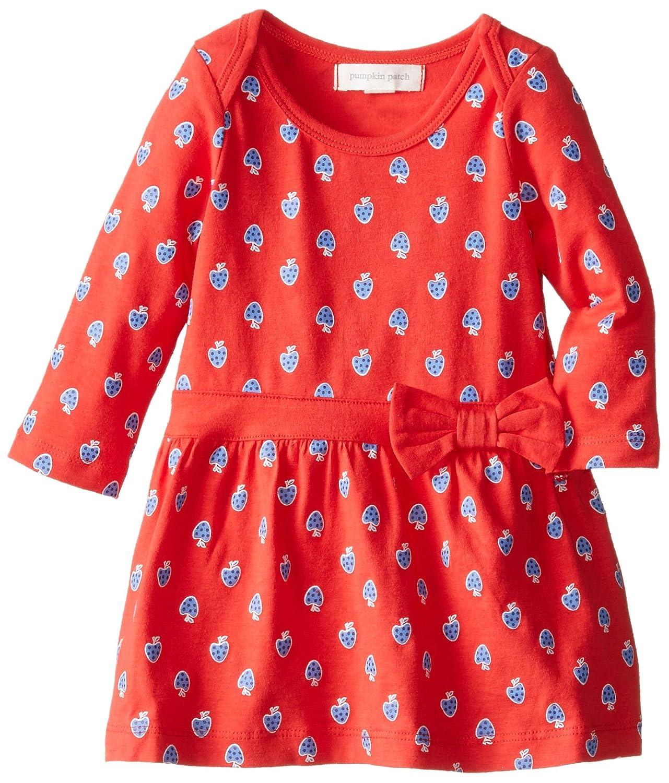 Amazon Pumpkin Patch Baby Girls Infant Knit Dress Poppy Red 3