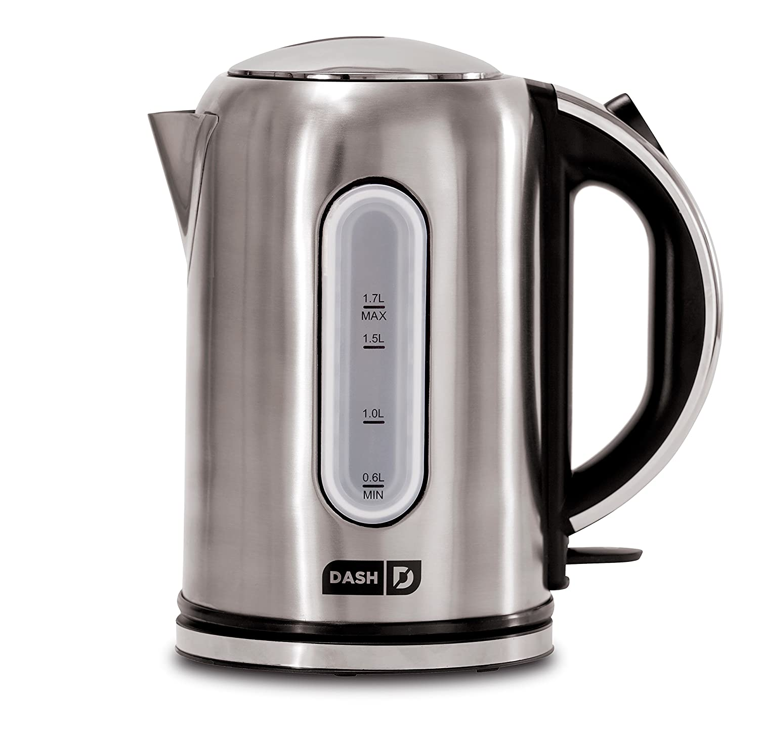 Espresso /& More 57 oz // 1.7 L Stainless No Drip Spout Cordless Carafe Auto Shut off for Coffee Cool Touch Handle Dash DEK001SS Electric Kettle Water Heater with Rapid Boil Tea