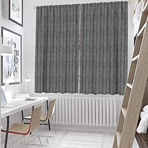 Amazon.com: hengshu Curtains Panels 55 Inch Lenght ...