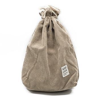 Anzirose Bolsas de cordón pequeñas de Dos Capas de algodón ...