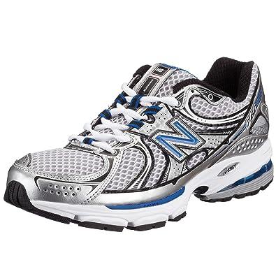 23da752a6556a New Balance Men's MR760 Nbx Stability Running Shoe,Silver/Blue ...