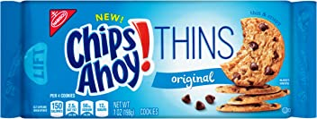 Chips Ahoy! Thins Original Chocolate Chip Cookies, 7 Ounce