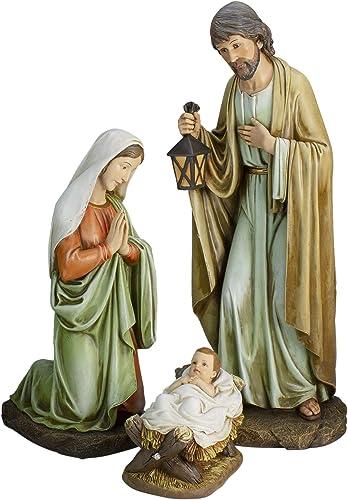 Roman 27 Holy Family Set Religious Indoor Christmas Figures