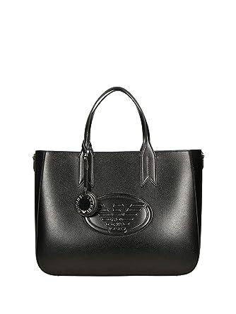 bb17f91c9cb9 Emporio Armani Y3D082 Shopping Femme noir PZ  Amazon.fr  Vêtements et  accessoires