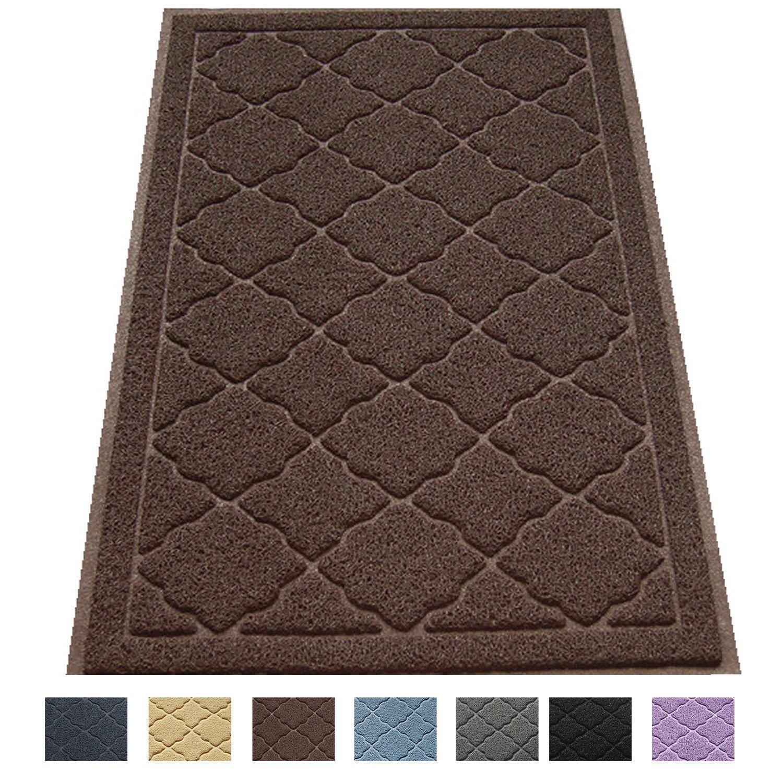 """Large Litter Mat 35"""" x 23"""" Cat Litter Mat, Traps Messes, Easy Clean, Durable, Non Toxic Trapper Rug - Litter Box Mat, Cat Mat, Kitty Litter Mat Easyology 1234"""