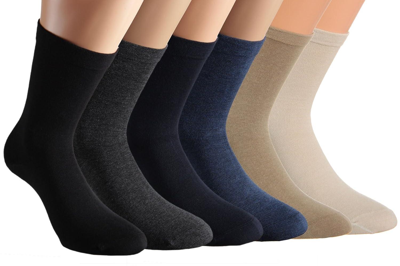 pacco da 6 o da 8 VITASOX Calze da donna calzini per la salute senza gomma