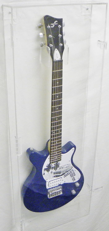 284c4edc838 Amazon.com : Acrylic Guitar Display Case by Pennzoni Display : Sports &  Outdoors