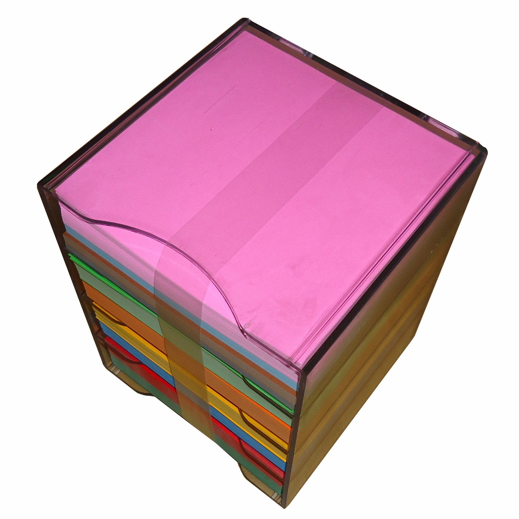 6'' Single Side Origami Paper 10 Colors 2000 Sheets LOT in PP Case by Jong Ie Nara