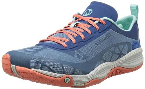 MerrellAllout Soar - Botines mujer, azul - Blue (Tahoe), EU 36: Amazon.es: Zapatos y complementos