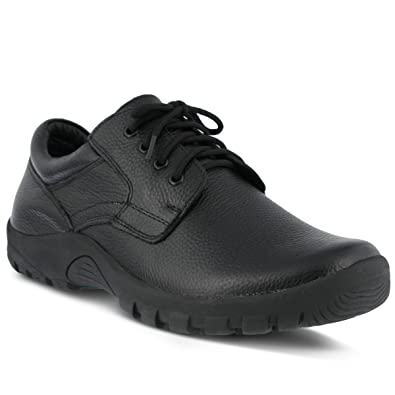 Men's Spring Step Professional Berman Men's Lace-Up Shoe  Color Black  Men's Leather Lace-up Shoe