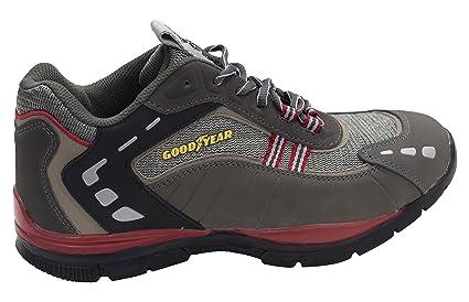 Goodyear G1383010C - Calzado de seguridad, línea deportiva (talla 46) color gris
