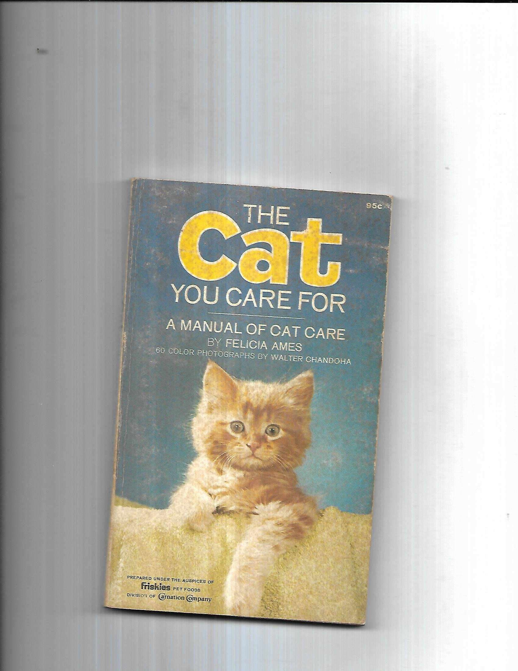 THE CAT YOU CARE FOR = A MANUAL OF CAT CARE: AMES FELICIA: Amazon.com: Books
