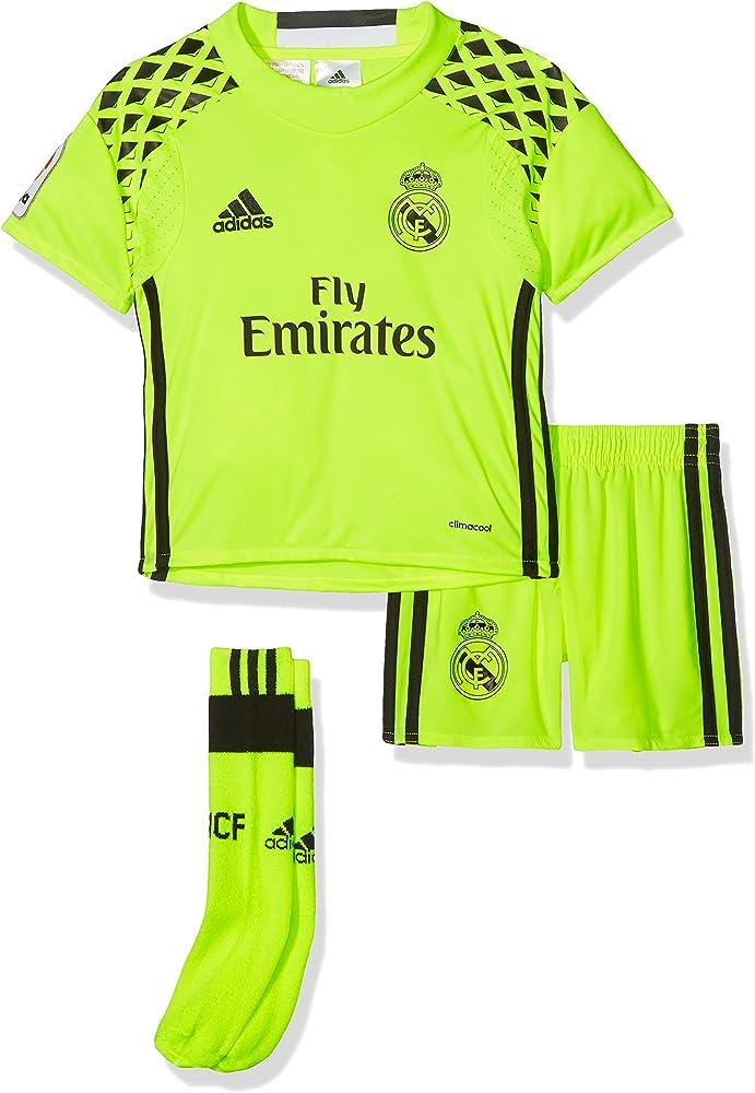 adidas Línea Real Madrid Cf Conjunto Deportivo, Niños, Amarillo (Syello/Black), 5-6 años: Amazon.es: Ropa y accesorios