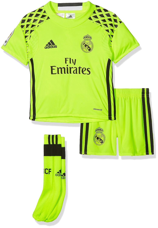 Adidas CF A GK SMU M, Completo Calcio Real Madrid Unisex Bambini B41455
