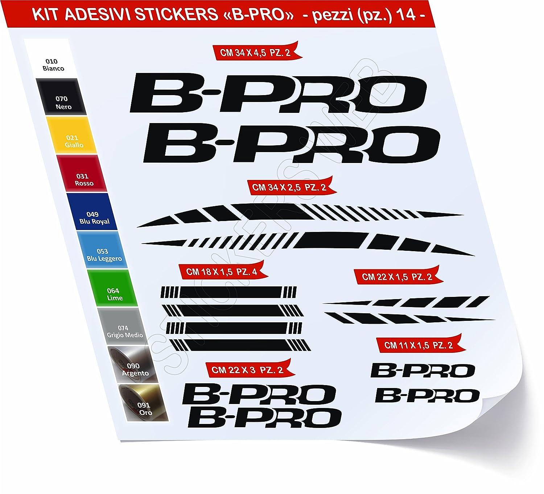 0477 14/Piezas/ Pimastickerslab Adhesivo Sticker Kit Bicicleta B-Pro BPro Pegatinas /scegli Sufrido Colore- Bicicleta Ciclo Pegatina Bacalao