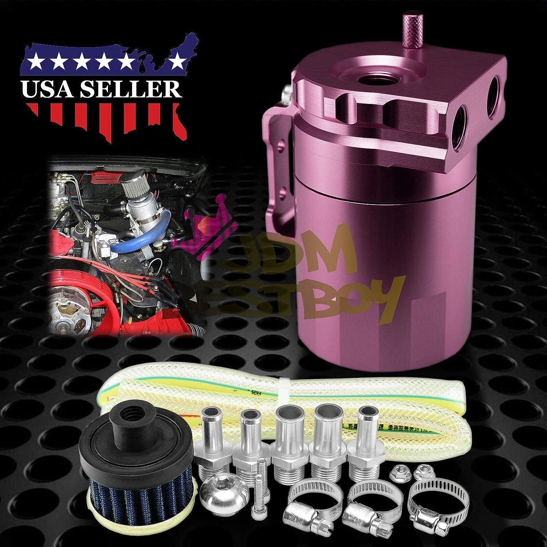 Billet Aluminio Motor depósito de aceite Catch Tanque Del ...