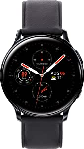 Samsung Galaxy Watch Active2 W/ Enhanced Sleep Tracking Analysis, Auto Workout Tracking, and Pace Coaching (44mm, GPS, Bluetooth, Unlocked LTE), Aqua Black - US Version with Warranty