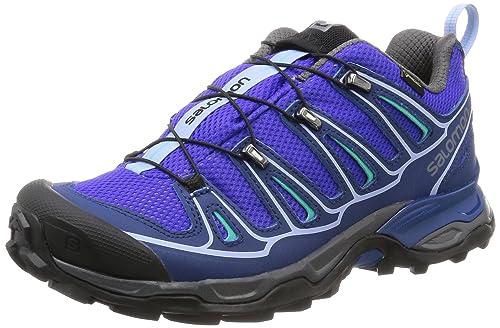 Salomon L39038300 - Zapatillas de senderismo Mujer, Azul (Blue), 40 EU: Amazon.es: Zapatos y complementos