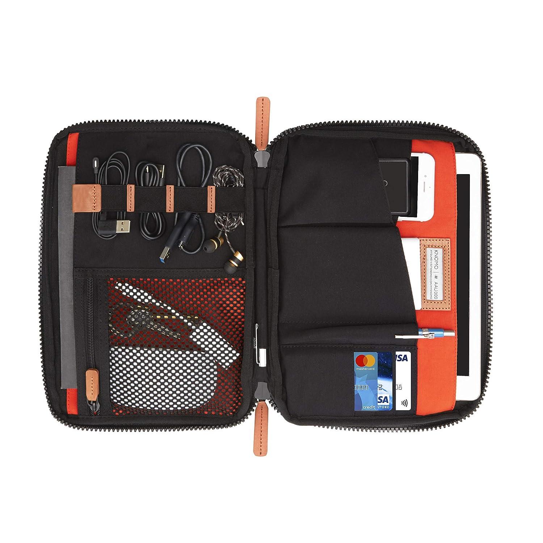 Knomo Luggage Knomad 2 Tech Organiser 10.5 Travel Purse