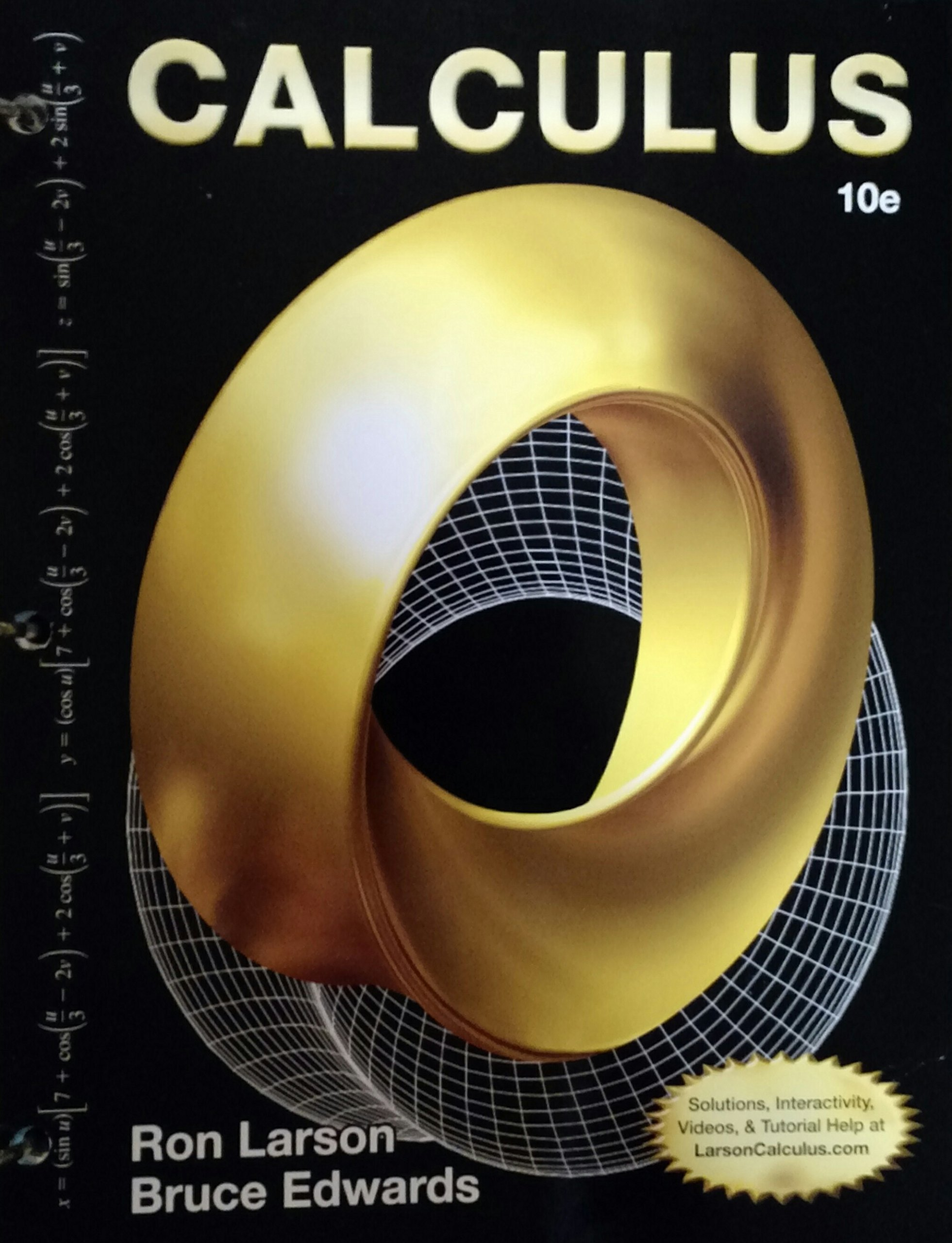 CALCULUS-TEXT (LOOSELEAF): Ron Larson, Bruce Edwards: 9781305654402:  Amazon.com: Books