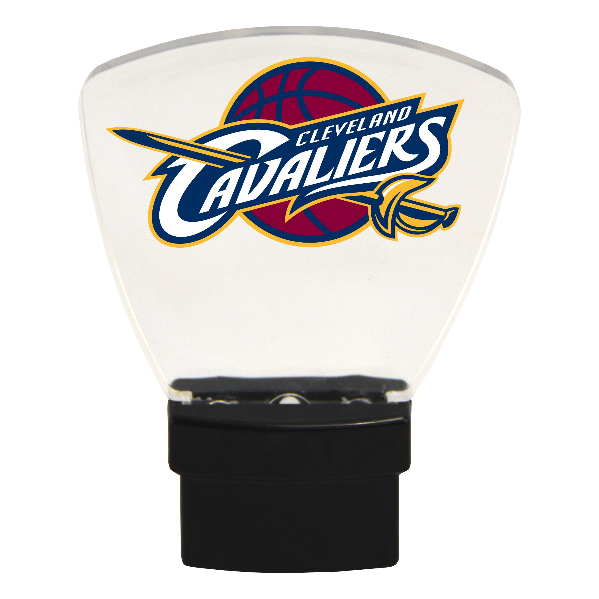 Authentic Street Signs NBA Officially Licensed-LED NIGHT LIGHT-Super Energy Efficient-Prime Power Saving 0.5 watt-Plug In-Great Sports Fan gift for Adults-Babies-Kids Room (Cleveland Cavaliers)