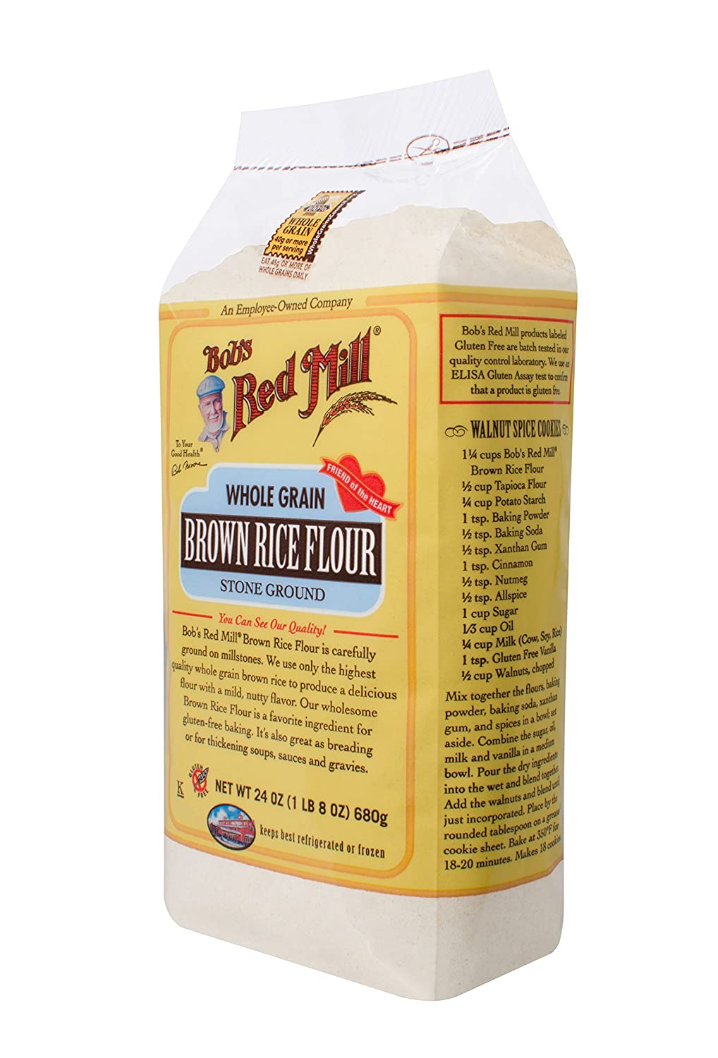 Amazon : Bob's Red Mill Gluten Free Brown Rice Flour, 24ounce (pack Of 4