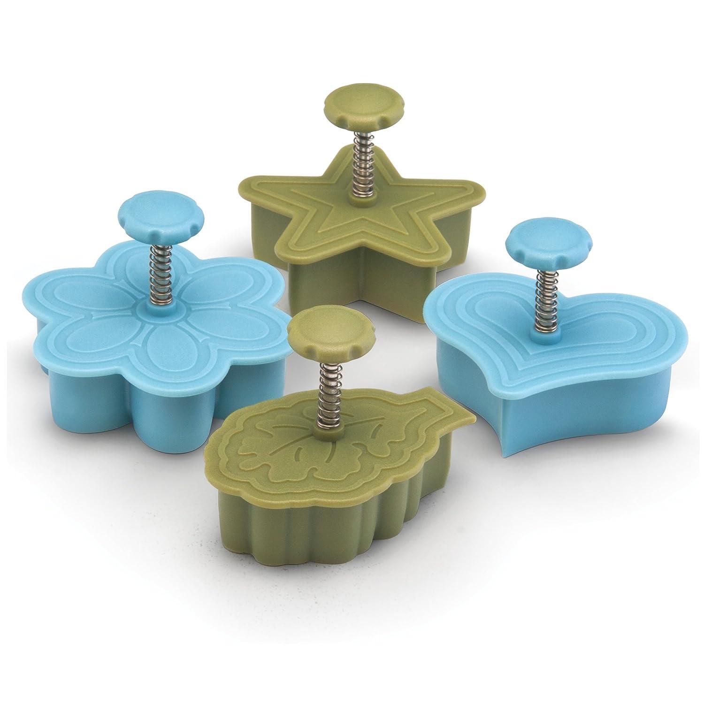 Amazon.com: Paula Deen Signature Kitchen Tools 4-Piece Pie Press ...