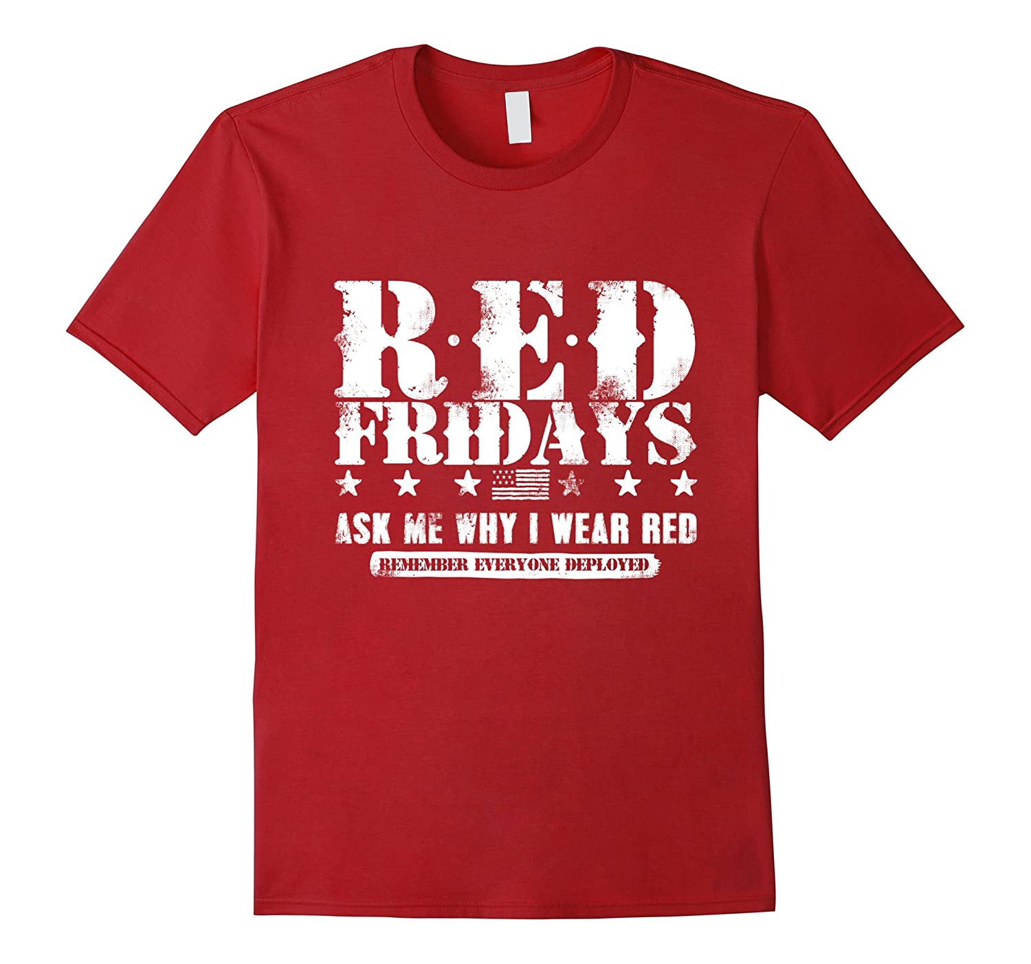 Military Support Red Shirt Fridays T-Shirt