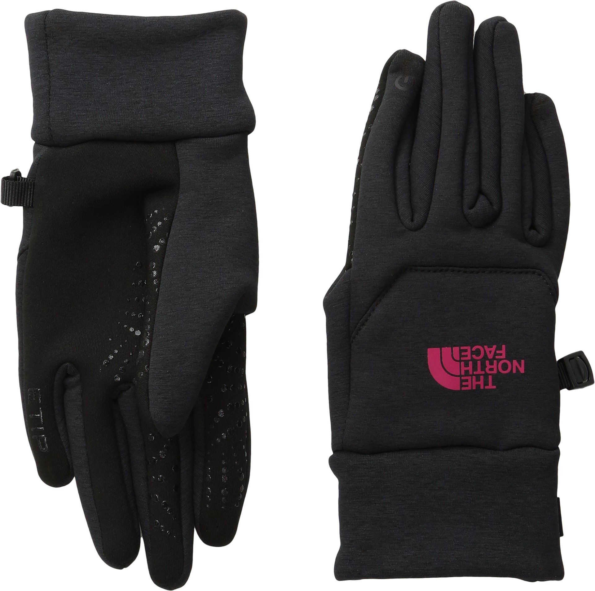 The North Face Women's Etip Hardface Gloves Tnf Black/Cherise Pink MD