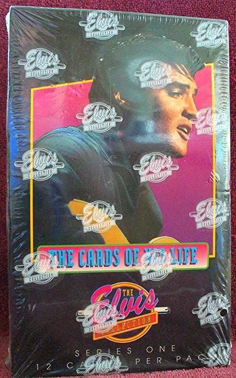 Amazoncom Elvis Presley The Cards Of His Life Series 1 Trading