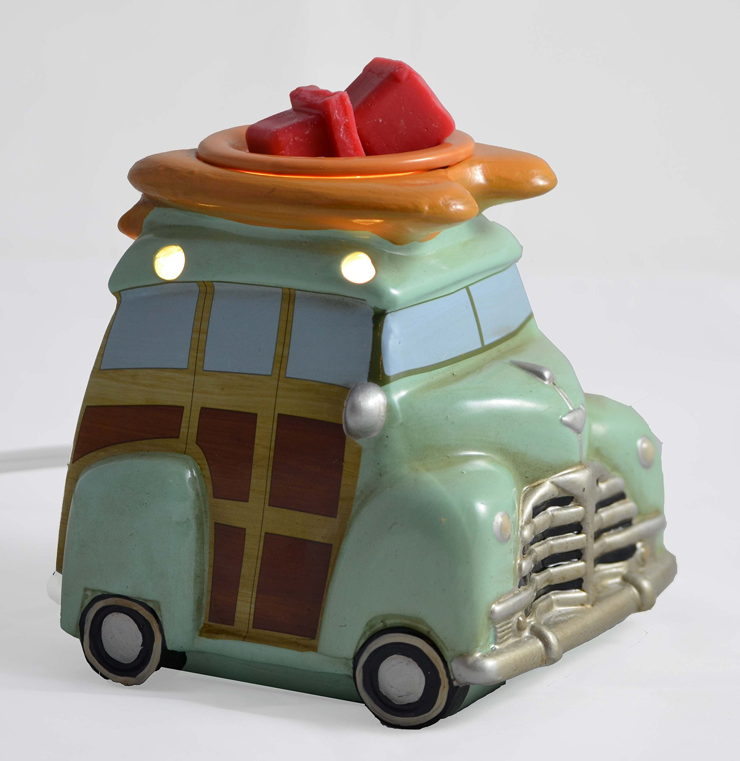 Scentsationals Retro Collection-Surf Woody Wagon - Scented Wax Cube Warmer by ScentSationals (Image #5)