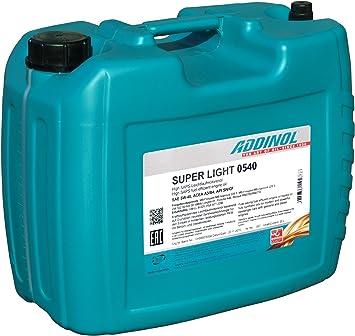 Addinol Super Light 0540 20 Liter Auto
