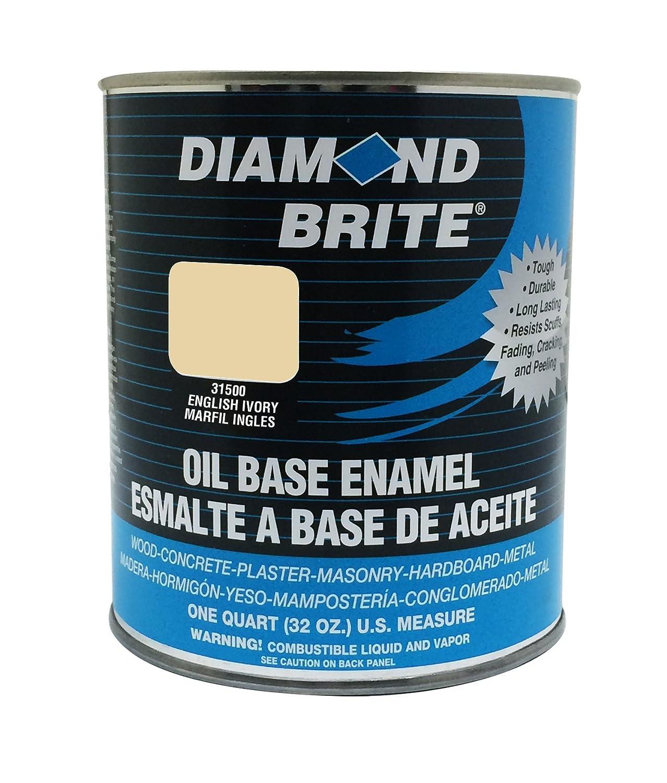Diamond Brite Paint 31000 5-Gallon Oil Base All Purpose Enamel Paint   White