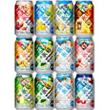 【Amazon.co.jp限定】キリン 旅する氷結 10種 飲み比べセット [ チューハイ 350ml×12本 ]