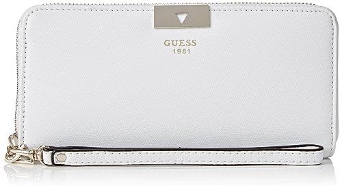 Guess Mujer SWVS6489460 Monedero Blanco Size: 2x8x11 cm (W x ...
