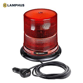 Awesome Amazon Com Lamphus Aura 7 12W Led Beacon Warning Strobe Light Sae Wiring Cloud Brecesaoduqqnet