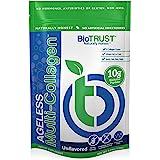 BioTrust Ageless Multi Collagen Protein a 5-in-1 Collagen Powder, 5 Collagen Types (I, II, III, V and X), Hydrolyzed Collagen