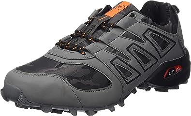 CAGAYA Zapatillas de Senderismo Hombre Trekking Zapatillas Antideslizante Aire Libre Calzado Deportivo Zapatillas de Trail Running Hombre: Amazon.es: Zapatos y complementos