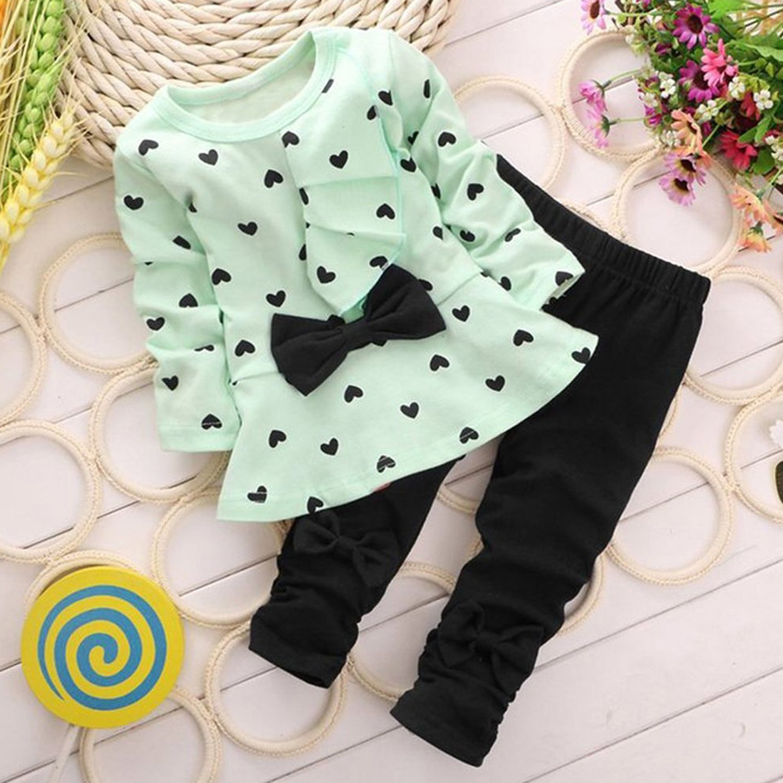 87fb4f76b Amazon.com  Avidqueen Adorable Cute Toddler Baby Girl Clothes Set ...